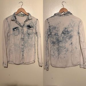 Tops - Denim Button Down